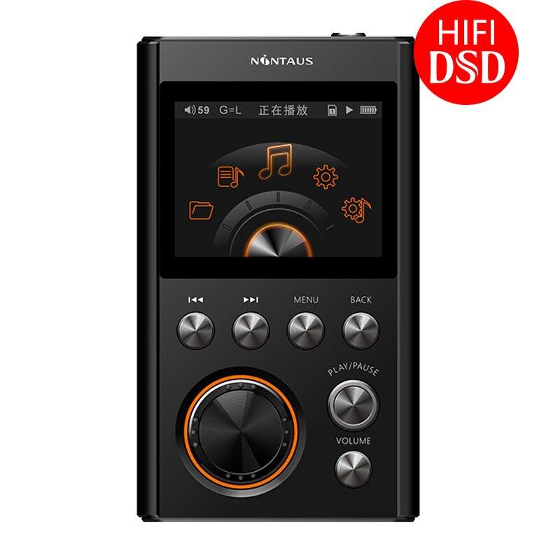 AK NiNTAUS X10 MP3 Player Verbesserte Version DSD64 HIFI Musik Hohe Qualität Mini Sport DAC WM8965 CPU 16 GB