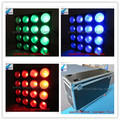 A-(4PCS+FLY CASE) best selling producte rgb 16x30w rgb led matrix display 3IN1 LED dmx stage matrix blinder light