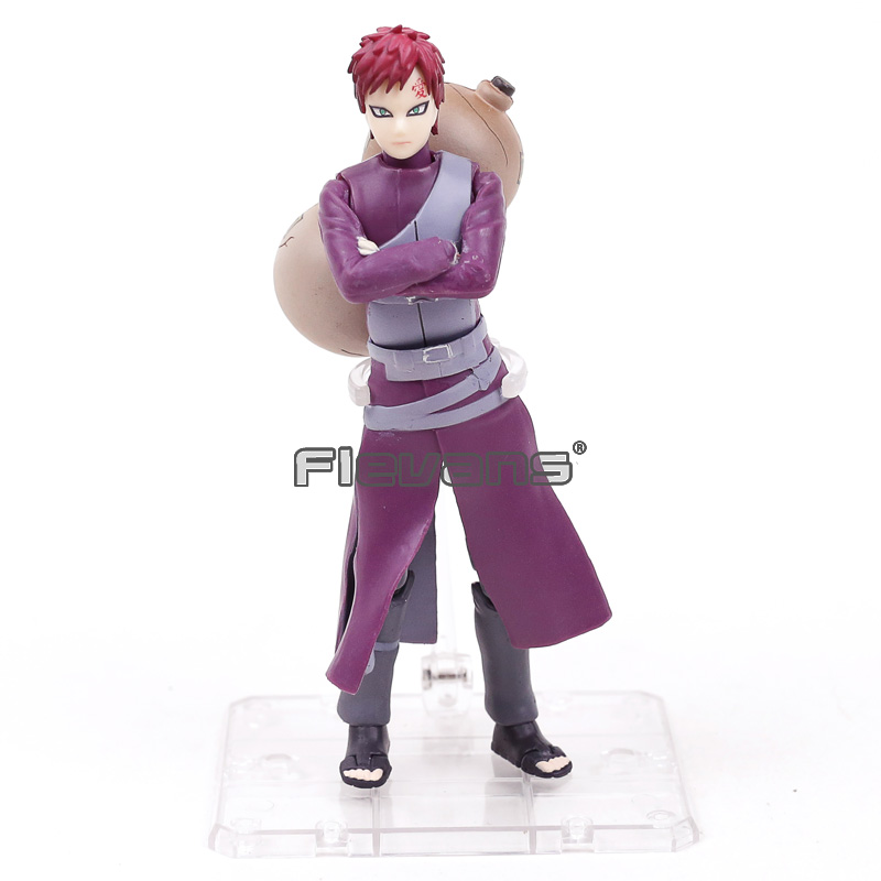 Naruto Shippuden SHF S.H.Figuarts Sabaku Gaara Gourd Big Hand Ver PVC Action Figure Collectible Model Toy hellboy giant right hand anung un rama right hand of doom arms hellboy animated cosplay weapon resin collectible model toy w257