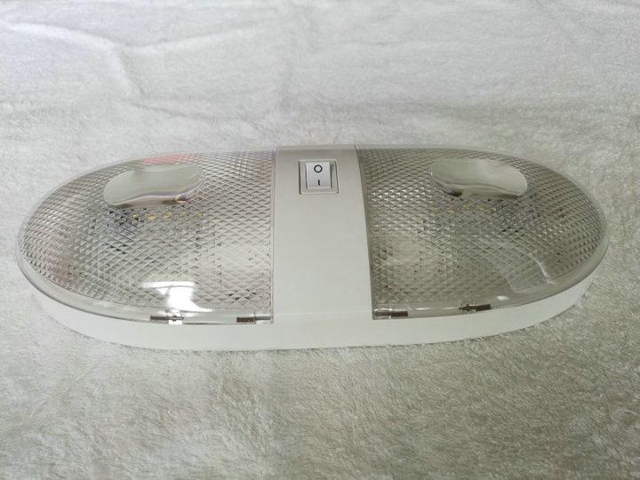 Plafoniere 12 Volt Per Camper : 5x rv plafoniera led 12 v camper marine doppio cupola di luce