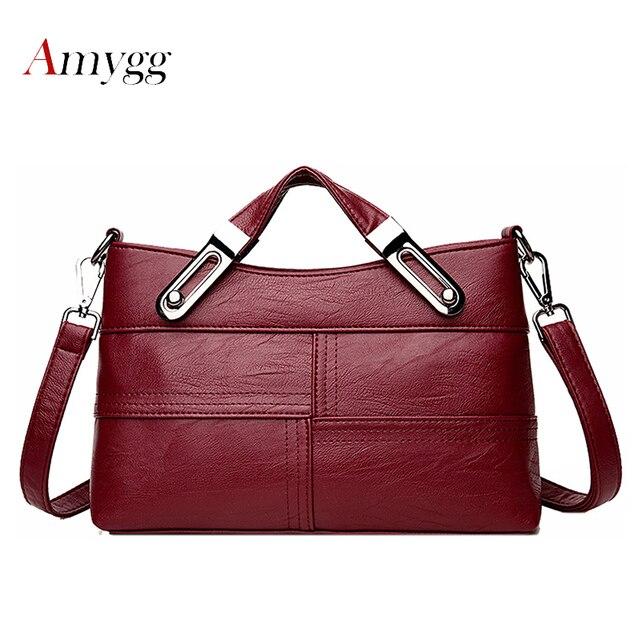 f95d9462109 ... Leather Handbags Bag Ladies Hand bags. Best Price Women Messenger Bags  Flap Crossbody New Spring Summer 2018 Inclined Shoulder Bag Women s