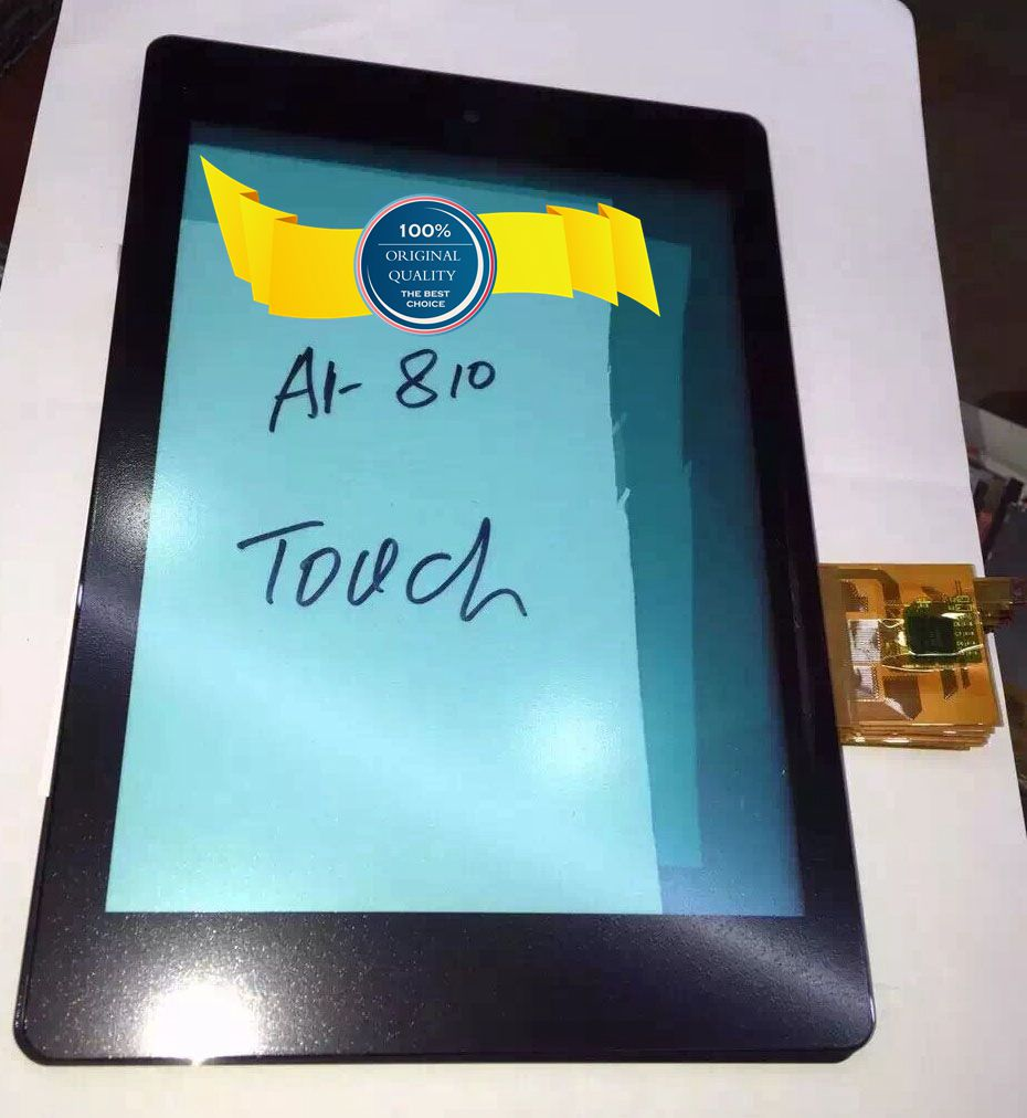 Tested Digitizer Touch Screen panel Sensor Glass For Acer Iconia Tab A1 A1-810 A1-811 A1 810 free shipping new 12v 1 5a for acer iconia tab a510 a511 a700 a701 tablet charger ac dc adapter acer cable charging free shipping