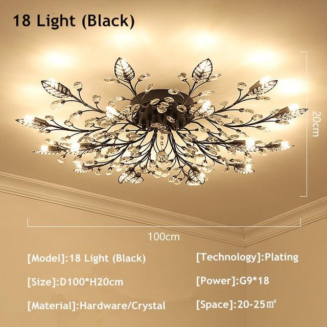 18 Lights Black