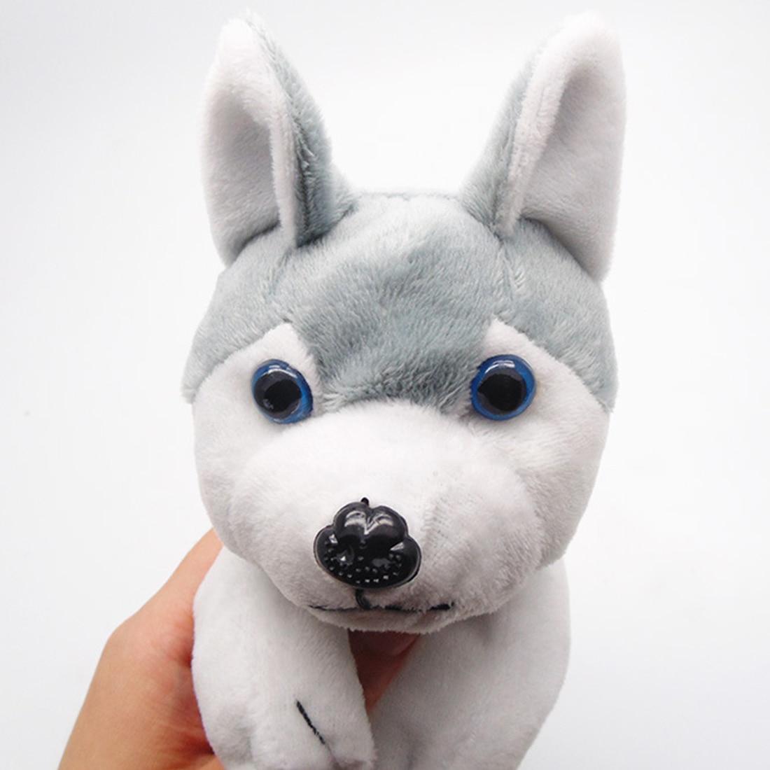 FangNymph Kawaii Cartoon Plush Toy Dog Pencil Case Cute Animal Pen Bag Box Stuffed Animal Doll Gift School Supplies Stationery
