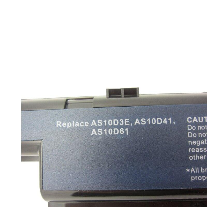 Baterias de Laptop as10d71 as10d73 as10d75 as10d7e as10d5e Tensão DA Bateria : 10.8v OR 11.1v