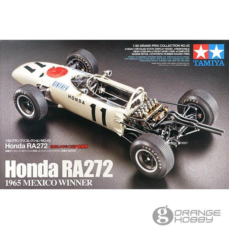 <font><b>OHS</b></font> Tamiya 20043 1/20 RA272 1965 <font><b>Mexico</b></font> Winner Scale Assembly Car Model Building Kits