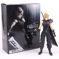 Play Arts Kai Final Fantasy VII 7 NO.1 Cloud Strife PVC Action Figure Collectible Model Toy 26cm