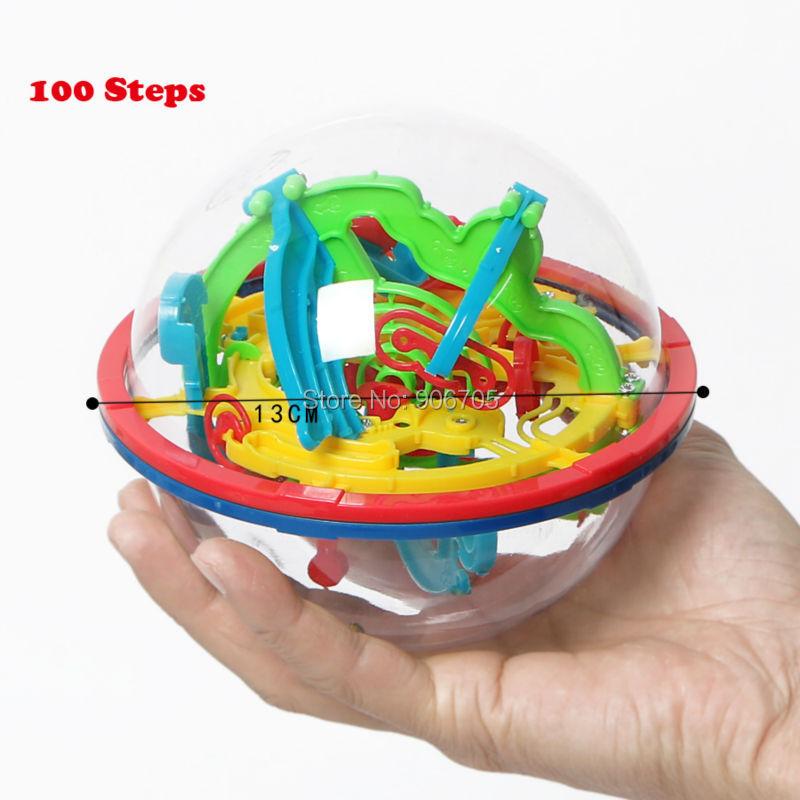 99-299 Koraci 3D Magic Intellect Ball Mramor Puzzle IQ igre perplexus - Igre i zagonetke - Foto 5