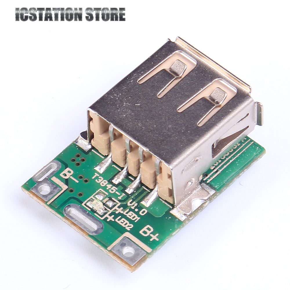 10pcs 5V Step-Up Module Boost Converter Lithium Battery Charging Protection For DIY Charger 30a 3s polymer lithium battery cell charger protection board pcb 18650 li ion lithium battery charging module 12 8 16v