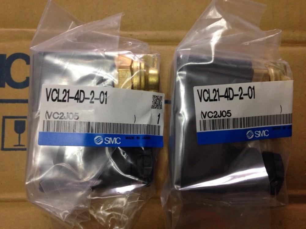BRAND NEW JAPAN GENUINE VALVE VCL21-4D-2-01 brand new japan smc genuine valve vdw21 4g 1 01