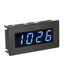 """De alta Precisión Digital de Frecuencia Del Tacómetro 0.56 """"4 LED de la CC 8-15 V Car Motor Speed Meter Medidor de RPM Medición Tester 5-9999R/M DC 8-15 V"""