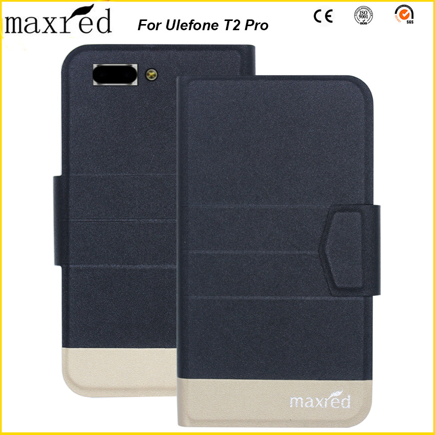 Original! Ulefone T2 Pro Case 5 Colors High Quality Flip Ultra-thin Luxury Leather Protective For