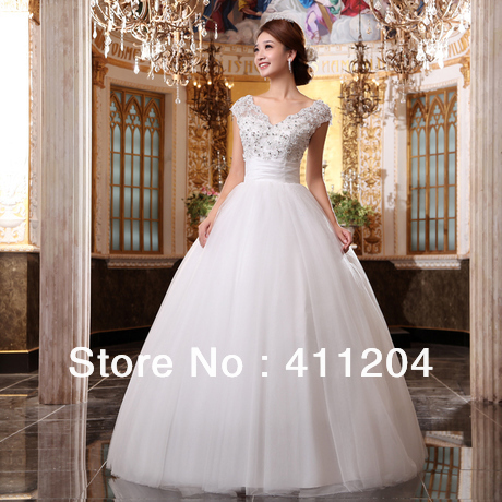 Large Size Wedding Dress Lace Cap Sleeve Plus Hs0015 In Dresses From Weddings Events On Aliexpress Alibaba Group