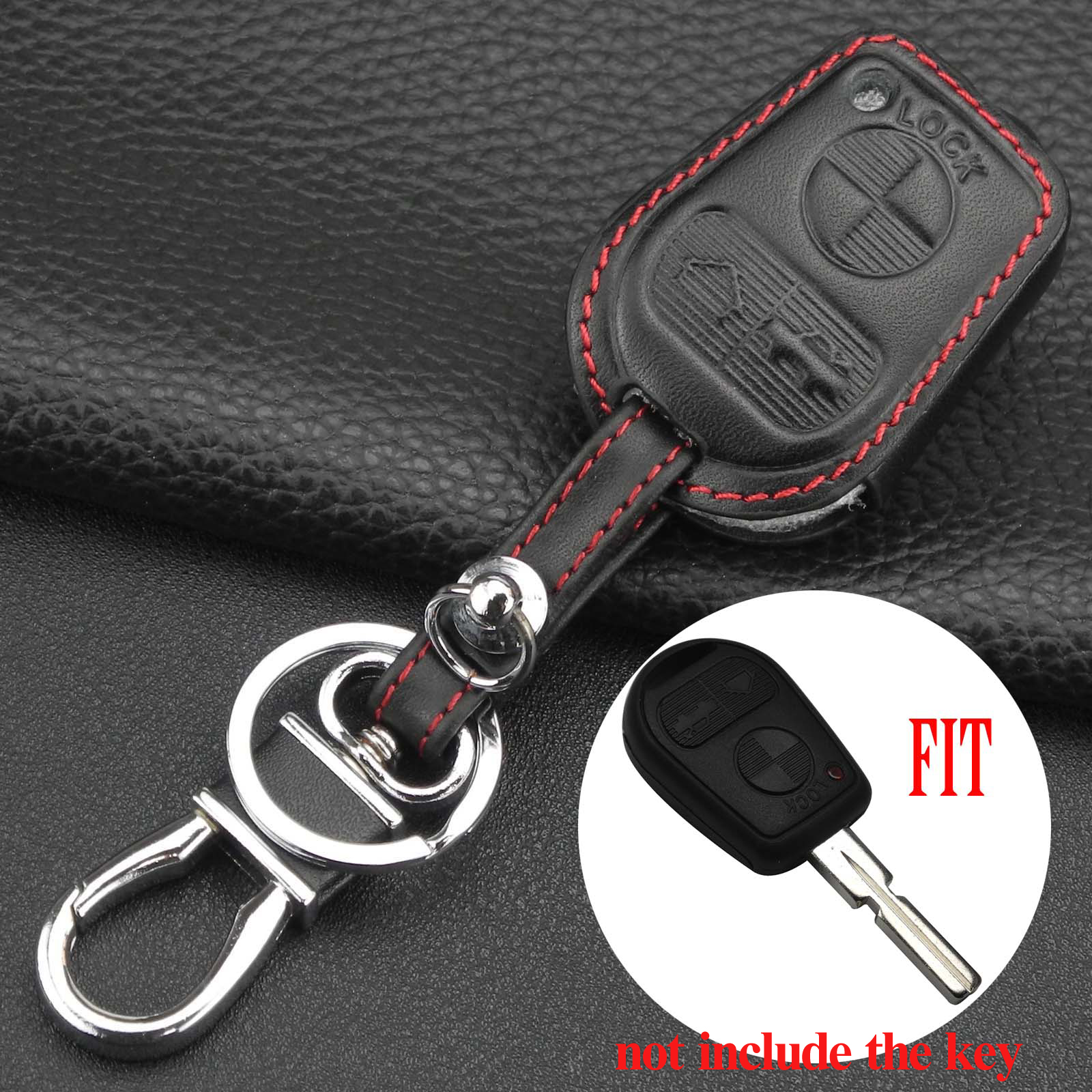 Jingyuqin удаленного ключа автомобиля чехол для Bmw E31 E32 E34 E36