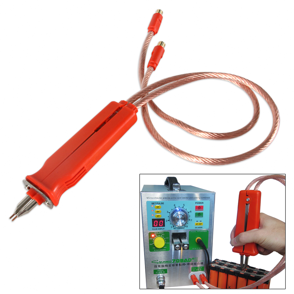 HB-70B Pulse spot welder spot welding pen Battery spot welding pen use for 18650 polymer battery welding for 709A 709AD series
