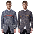 New Arrivals RZ-M503 Casual Men Slim Cardigan Cotton New V Neck Long Sleeve Slim Knitwear Sweaters Men Trendy Clothing