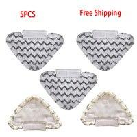 5 pçs qualidade superior engrossar almofadas mop limpeza a vapor acessórios de substituição para shark p3/p5/p8 series peças de limpeza a vapor
