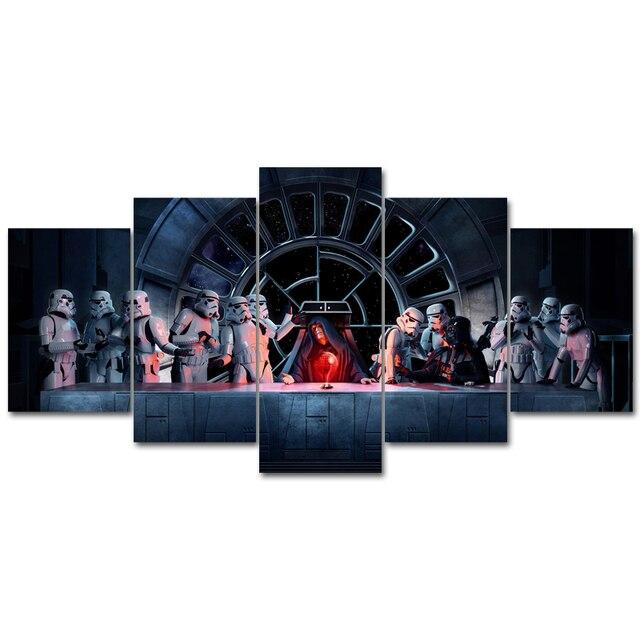 Promo Star Wars Film Poster Kunstdrucke Moderne Leinwand
