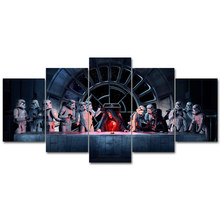 Star wars Movie poster Art Prints Modern Canvas Wall Art Oil Paintings Pictures Posters for Bedroom livingroom home Decor frame