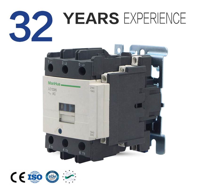 цена на ManHua Online Shopping Voltge 110VAC LC1-D95 Coil Contactor For Air Conditioning AC Contactor Elevator Magnetic