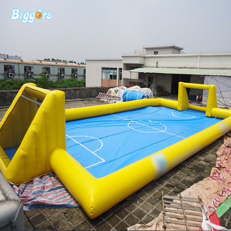 OEM Inflatable Soapy Stadium Football Soccer Field For Sports Game