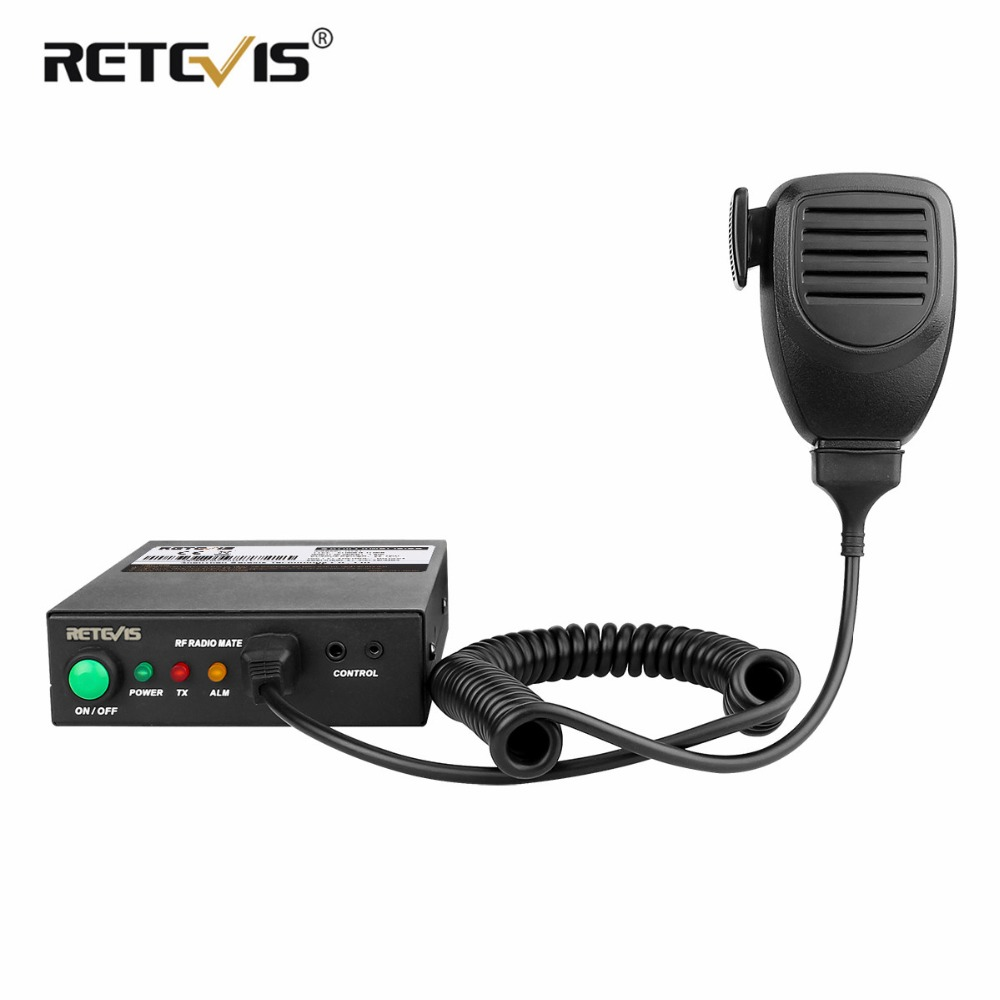 RETEVIS RT91 Talkie Walkie Amplificateur de Puissance RF VHF (ou UHF) 30-40 w Pour Kenwood Baofeng DMR Numérique/Analogique Portable Radio
