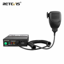 цена на Retevis RT91 Walkie Talkie Radio Power Amplifier DMR Digital/Analog Ham Radio Amplifier VHF (or UHF) For Kenwood Baofeng/Ailunce