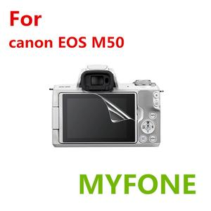 for Canon EOS M50 Screen Protector PET Tempered Glass Film DSLR Camera Accessories