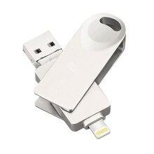 3in1 Rotate FlashDrive 4GB 8GB 16GB 32GB 64GB 128GB USB2.0 Flash Stick Pendrive lightning USB Android interface U Disk стоимость
