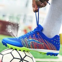 Football Shoes Woman Mesh Breathable Soccer Male Shoes Broken Nails Fe