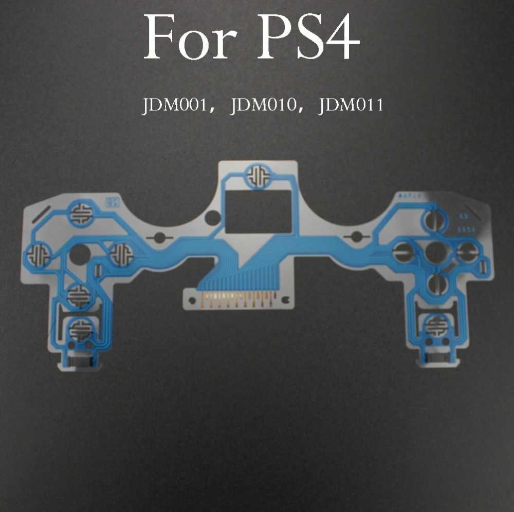 YuXi JDM-030 JDM-040 JDM-055 สำหรับ ps4 controller conductive film flex cable คุณภาพสูงสำหรับ ps4 joystick repair part
