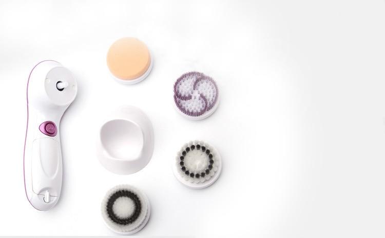 4 in 1 Elektrische Gesichtsreiniger 2 Geschwindigkeit Rotary - Hautpflege-Werkzeug - Foto 6