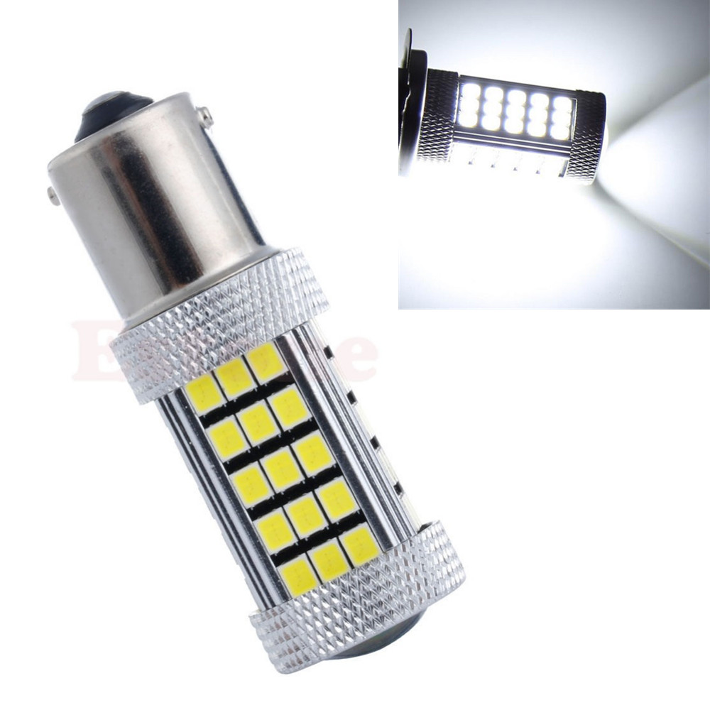 CYAN SOIL BAY 1156 P21W BA15S S25 63 66 SMD LED auto brake light Backup Reverse Rear Turn Signal Fog Bulb Lamp Bright Than 33SMD cyan soil bay h11 h8 2835 66 smd led 6000k auto projector fog daytime driving light bulb white red amber car bright than 33 smd