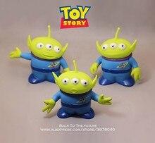 Figuras de acción de personajes de Disney Toy Story, Woody, Green Aliens, 3 estilos, 15cm, colección de decoración de Anime, modelo de juguete para niños, regalo