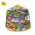 YIQU Hot Russian Early Educational Toys Baby Learning Mat Crawling Mat Baby Gym Musical Carpet Play Mats Blanket Eva Rug
