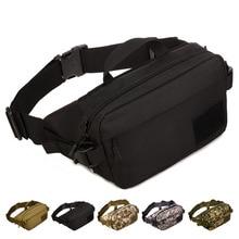 Férfi Vízálló 1000D Nylon Sling mellkasi Fanny Pack Waist Bag Hip Bum Öv Messenger válltáska pénztárca táska táska