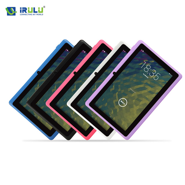 "iRULU eXpro X1 7"" Tablet PC Allwinner A33 Quad Core Android 4.4 Tablet 8GB Dual Cam OTG WIFI Google APP Play Multi Color Hot"