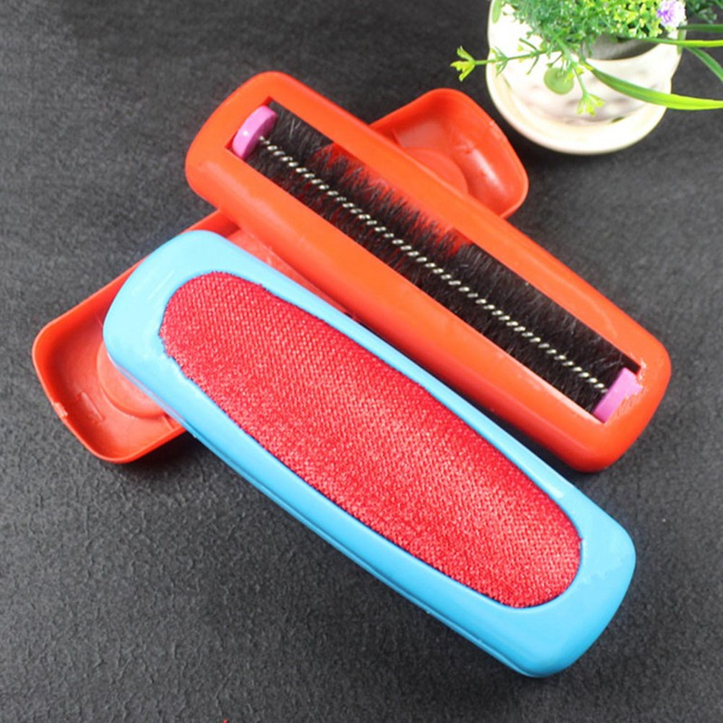 Carpet Dust Brush Plastic Table Crumb Sweeper Pet Hair Fluff Cleaner Sticky Picker Lint Roller Clothes Cleaning Brushes