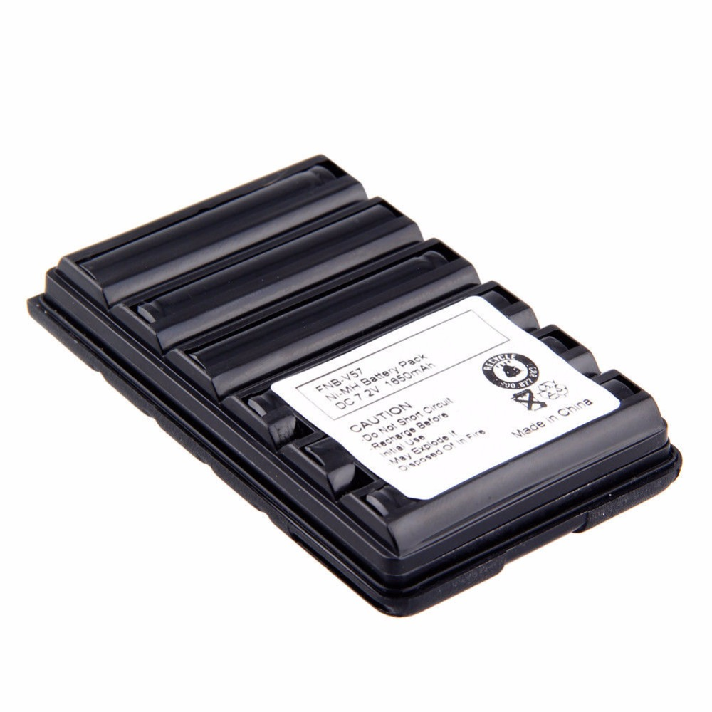 2x 1650mAh 7.2V FNB-64 FNB-83 Ni-MH Battery for Yaesu//Vertex Radio VX-150 VX170