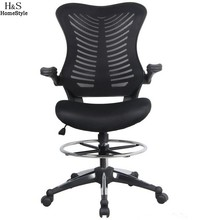 Homdox Office Chair Off Ergonomic Adjustable Drafting Reception Office Stool-Chair  Swivel chairs with Armrests N30*