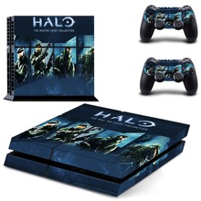 HALO Vinyl Sticker PS4 Skin Decal Sticker For PlayStation4 Console and 2 controller skins