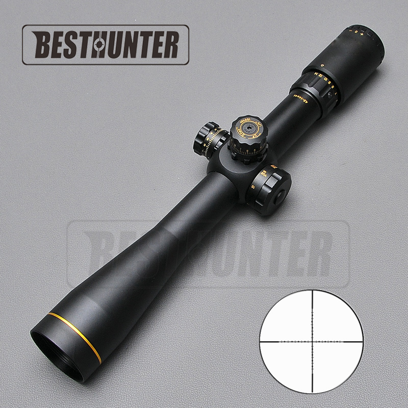 Tactical 4.5-14X44 Tactical Scope Riflescopes Sniper Gear For Airsoft Gun Rifle Rangefinder Hunting Scopes