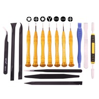 16 in 1 Professional Multi purpose Repair Tool Set with Carrying Bag for iPhone, Samsung, Xiaomi and More Phones