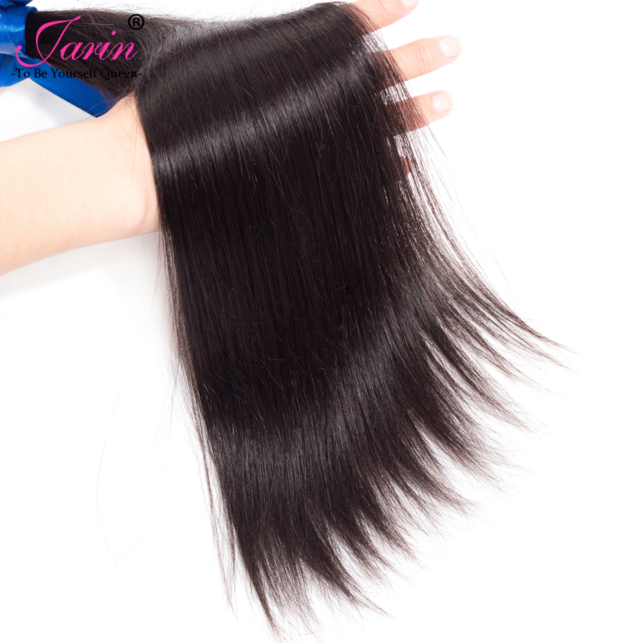Malaysian Straight Hair 100% Human Hair Bundles Deal Straight Hair Extension Natural Color Can Buy 3 or 4 Bundles Jarin 1piece