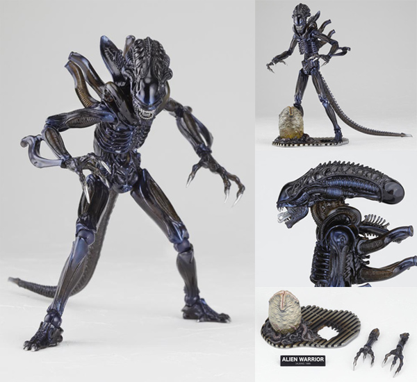 SCI-FIRECOLTECK Aliens Series No.016 Alien Warrior PVC Action Figure Collectible Model Toy