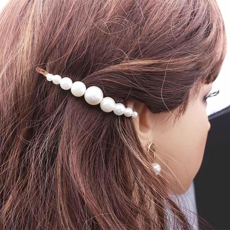 Жемчужные заколки для волос, женские заколки, заколки для волос, хрустальные короны в форме сердца, диадемы, свадебные аксессуары для волос, украшения для волос