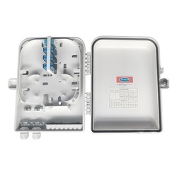 high quality 16 Core Outdoor Fiber Optic Terminal Box FTTH with waterproof connector Fiber Cable Distribution Box