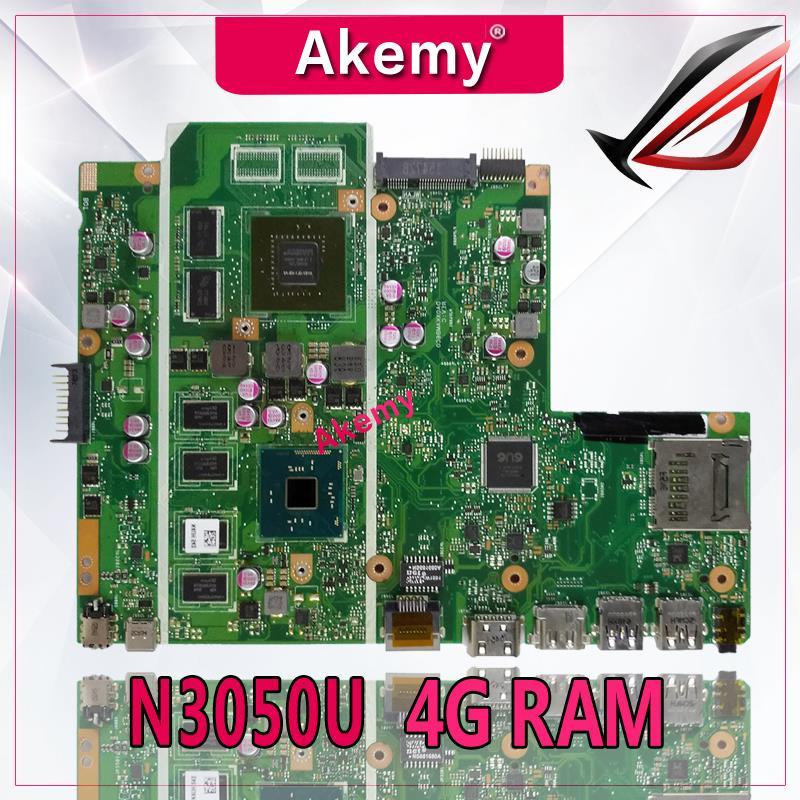 AKemy X540SC Laptop motherboard para ASUS X540SC X540S X540 Teste mainboard original N3050 CPU 4g RAM