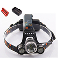 Head Light 3 *Cree Xml T6 Led Head Lamp Linterna Lampe Frontal Torch Light Fishing Headlamp With 18650 Batteries Hoofdlamp