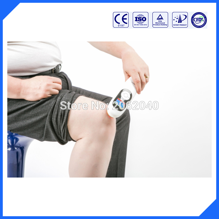 Body pain relieve low level laser physiotherapy hand held device unit sell LASPOT f3ww dental heal laser diode rechargeable hand held pain relief device